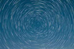 Star Trails sky replacement image